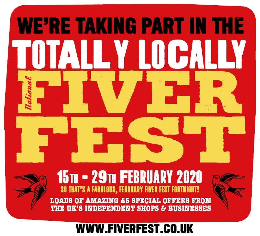 Fiver Fest West End Plymouth Poster Totally Locally